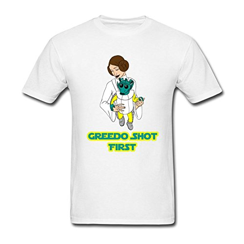 CNTJC Men's Greedo Shot First T Shirt L