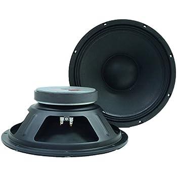 speakers 12. seismic audio q 12 pair 2 of 12-inch pa/dj replacement pro speakers