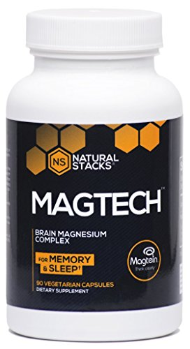 Natural Stacks MAGTECH with Magnesium L-Threonate BRAIN MAGNESIUM COMPLEX