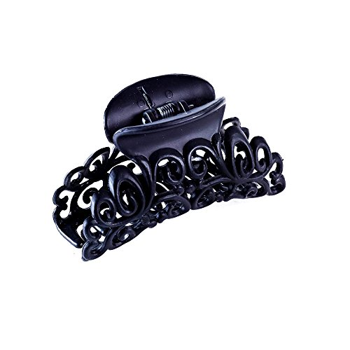 Claire's Girl's Black Filigree Hair Claw