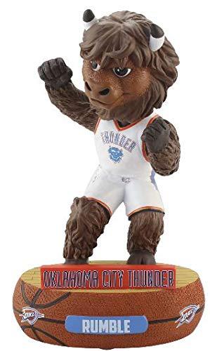 FOCO NBA Oklahoma City Thunder Unisex Mascot Baller BOBBLEMASCOT Baller Bobble, Team Color, ()