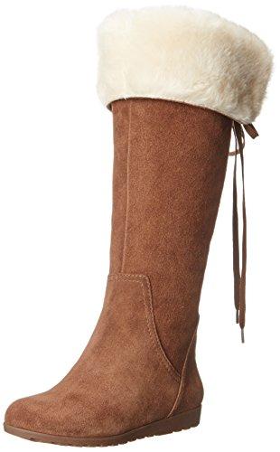 Nine West Women's Daring Knee High Boot,Dark Brown,7.5 M US