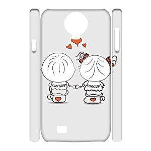 ZOEHOME Phone Case Of couple love,Hard Case !Slim and Light weight and won't fade, Scratch proof and Water proof.Compatible with All Carriers Allows access to all buttons and ports. for Samsung Galaxy S4 I9500