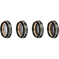 Aoile DJI Air Lens Filters Kit Multifunctional Lens Filter Sunhood for MAVIC AIR