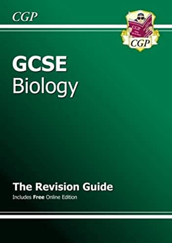 gcse biology revision guide with online edition a g course rh amazon co uk cgp revision guides science cgp revision guide jokes