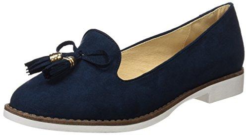 Refresh WoMen 063574 Mary Janes, White Blue (Navy Navy)