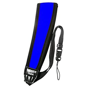Bower SS2475BL Digital Camera Neck Strap 1.75-Inch - Blue by Bower
