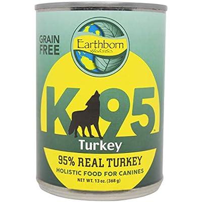 Earthborn Holistic K95 Turkey Recipe Grain Free Canned Dog Food, 13 Oz.