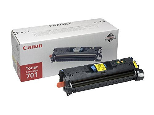 Price comparison product image Canon 701 - Isensys Crg 701 C Crg701Y Crg701 Y Crg 701Y 9284A003 Colour Laser Cartridge - 1 X Yellow Mf8180 Mf8180C Lbp5200 Mf 8180 Mf 8180C Lbp 5200