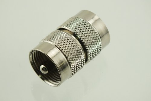 W5SWL ® Brand Premium Series Coax Adapter UHF Double Male Coupler - by W5SWL ® Brand