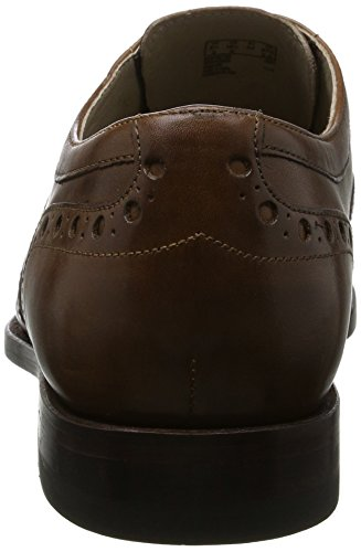 Clarks Twinley Limit, Zapatos de Vestir para Hombre Marrón (Tan Leather)