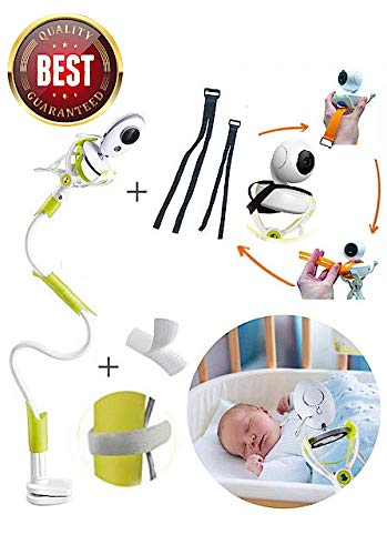 Flexible Long Arm Baby Infant HBONE Universal Baby Monitor Holder with Straps