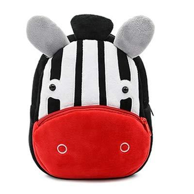 Best Quality - Kids Hot Schoolbag - Cute Zoo Plush School Bags Girls Boys Cartoon Kindergarten Backpack Kids Animal Stuffed Toy Bag Infants panda dog giraffe - by Osaro Shop - 1 PCs -