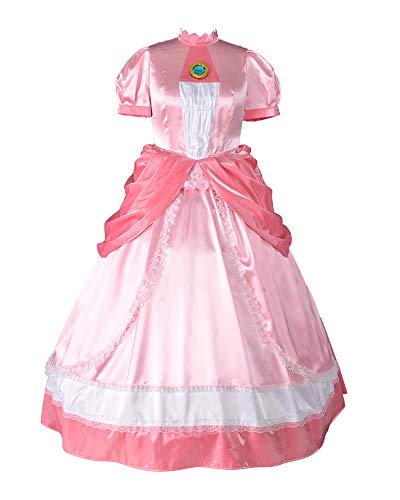 Princess Peach Costumes Women - miccostumes Women's Plus Size Princess Peach