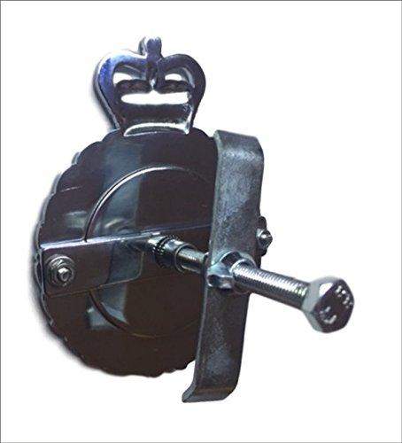Plaque de calandre royale en laiton chrom/é dense Fran/çais non garanti ROYAL CORPS  OF TRANSPORT