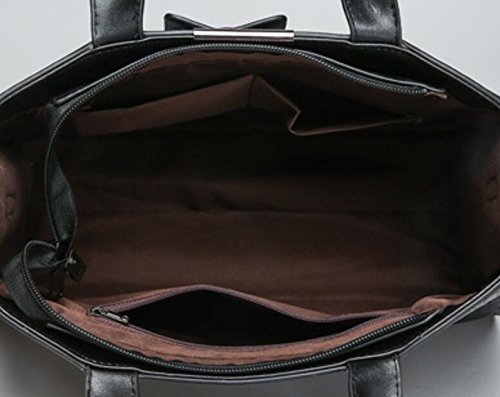 Épaule Messenger Nouvelle Mode Meaeo De Sac Black Unique Dame Marron Bag PIdqtt