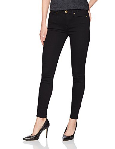 Religion Skinny Jeans Negro Rise Rinse Super Mujeres High Black Halle Body True Y7xUdqY