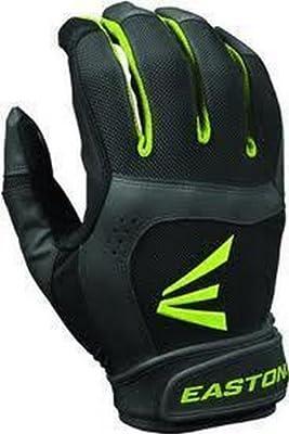1 Pair Easton Stealth Core Medium Black / Optic Fastpitch Womens Batting Gloves