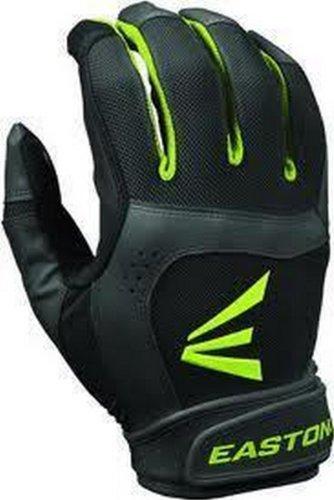 Batting Fastpitch Womens Glove (Easton 1 Pair Stealth Core Medium Black/Optic Fastpitch Womens Batting Gloves)