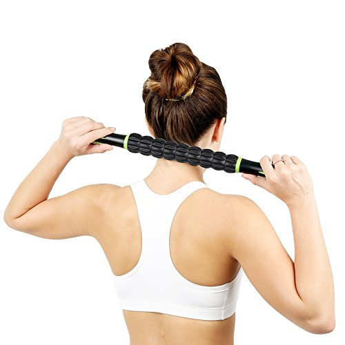 Naipo Muscle Roller Stick - Sports Massage Stic...
