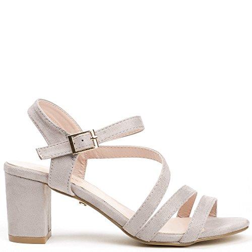 Damen Grau Sandalen Ideal Damen Shoes Sandalen Grau Shoes Damen Ideal Shoes Ideal qwzpx0IX