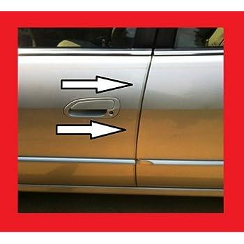 Amazon Com Car Clear Door Edge Trim Guard Molding All