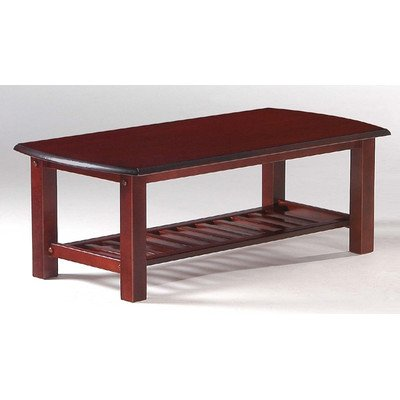 Night and Day Furniture Home Decorative Corona Coffee Table in Rosewood Finish (Table Oval Rosewood Coffee)