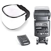 Simpex 621RX Universal Flash with Wireless Triggering Function (Trigger and Carrying Pouch Included) with Free Flash Diffuser