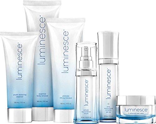 Jeunesse Luminesce Anti-aging Skincare Kit (6 Items): Serum - Moisturizer - Repair - Cleanser - Masque - Renewal from Jeunesse Global