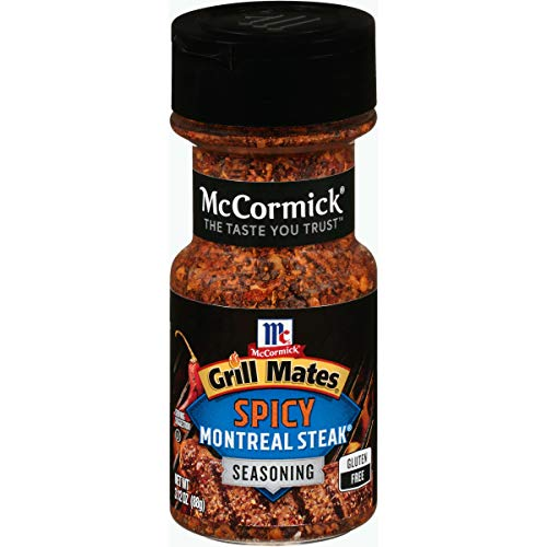 McCormick Grill Mates Spicy Montreal Steak Seasoning, 3.12 oz