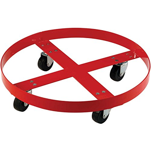 1000 Lb. Capacity Drum Dolly for 55 Gallon Drum - Steel Wheels by Global Industrial