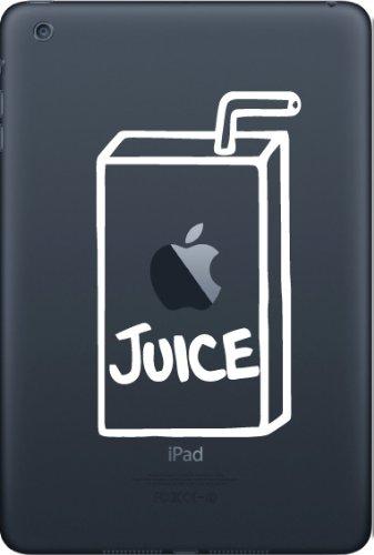 iPad Mini White Juice Box Yadda-Yadda Design Co. 2.75 w x 4.75 h Graphic Vinyl Decal Sticker