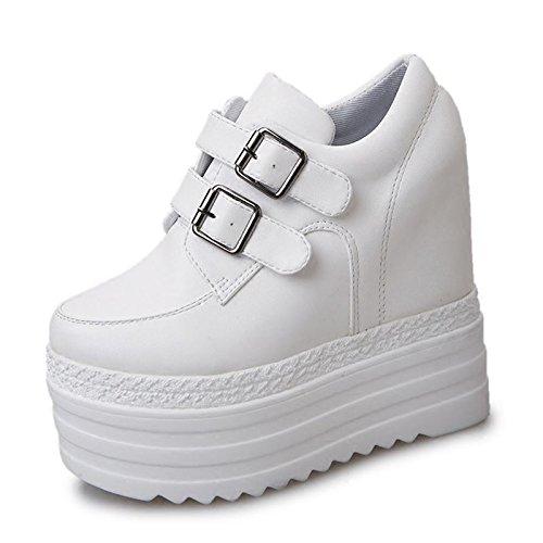Otoño 12Cm Grueso Super Fondo En Pendiente Zapatos Con GTVERNH El Mayor Ocio black High Zapatos Zapatos Heels p0q5xC