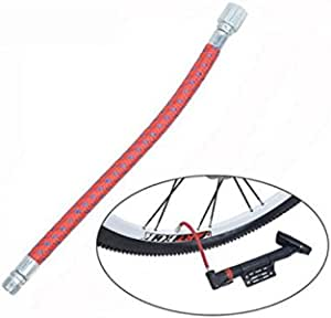 Bike Tyre Air Pump Inflator Replacement Extension Hose D1P2 For Schrader W0P7