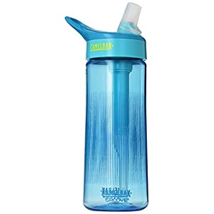 Camelbak Products Groove Water Bottle, Aqua, 0.6-Liter