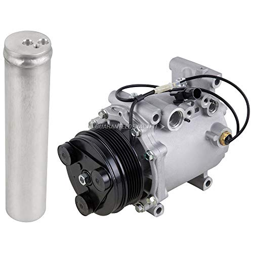 AC Compressor w/A/C Drier For Mitsubishi Endeavor Galant Eclipse - BuyAutoParts 60-86375R2 NEW ()