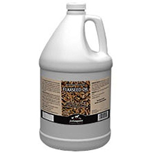 First Companion Flaxseed Oil Omega 3 & 6 Fatty Acid Supplement Horse Equine 1 Gallon