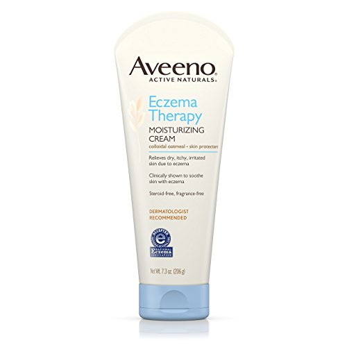 Aveeno Eczema Therapy Moisturizing Cream For Sensitive Skin, 7.3 Oz