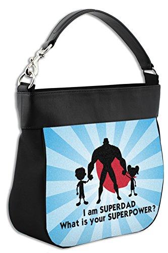Hobo Super Purse Dad Trim Leather Front Genuine w BzOfaz