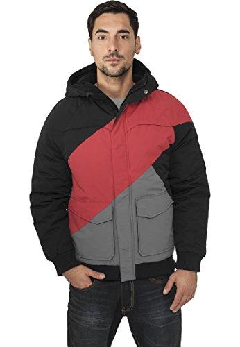red Black grey Para Classics Hombre Zag Urban Zig Jacket Chaqueta Fastlane zFP6wq