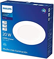 Downlight empotrable luz neutra 20W 2000 lm