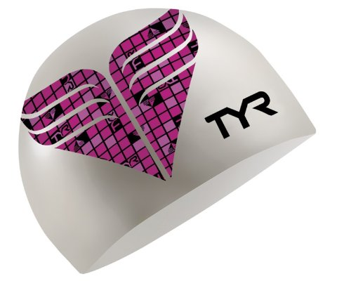 TYR Check Silicone Cap (Fluorescent Pink)