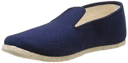 Rondinaud Damen Lt4-f Niedrige Hausschuhe Blau (Marineblau)