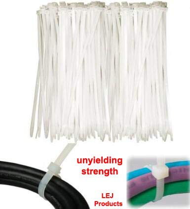 50 black//50 white, Long Durable Nylon tie wraps, Indoor and Outdoor UV Resistant, Quality Cable Ties China Qty-100 Cable Zip Ties Heavy Duty 29 Inch Strong Zip Ties with 175 Pounds Tensile Strength