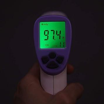 Term/ómetro infrarrojo port/átil de alta precisi/ón SWEEPID Hti HT-820D