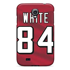 High Impact Dirt/shock Proof Case Cover For Galaxy S4 (atlanta Falcons) by icecream design