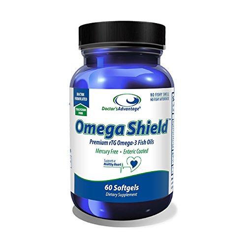 Omega Advantage - Doctor's Advantage Products Omega Shield, 60 Count