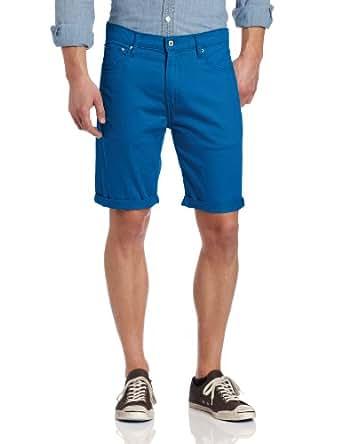 Levi's Men's 508 Regular Taper Twill Short, Empire Blue, 29w