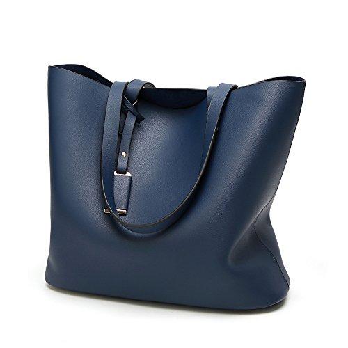 pour Sac grand E volume Anne main Blue à femme Z1BwUpqp6x