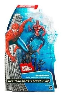 Spiderman 3 Symbiote Costume (Battle Damage Spider-Man Figure - Marvel Spider-Man 3 Movie Series 1)